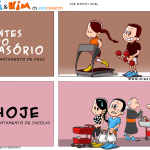 Tirinha 0497 – Casório: antes e depois