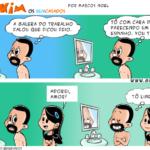 Tirinha 0510 – Novo visual: cavanhaque.