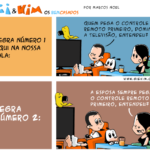 Tirinha 0556 – Ditando as regras