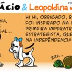 Tirinha 0577 – Bonifácio & Leopoldina